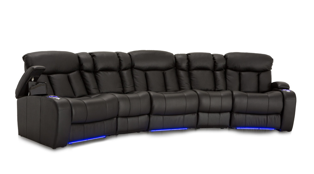 Seatcraft Niagara Home Theater Sofa