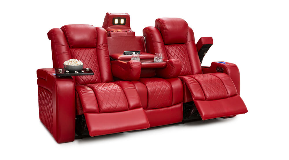 Seatcraft Anthem Home Theater Sofa & Loveseat | Seatcraft
