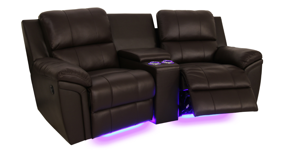 Seatcraft Madison Home Media Sectional Seatcraft