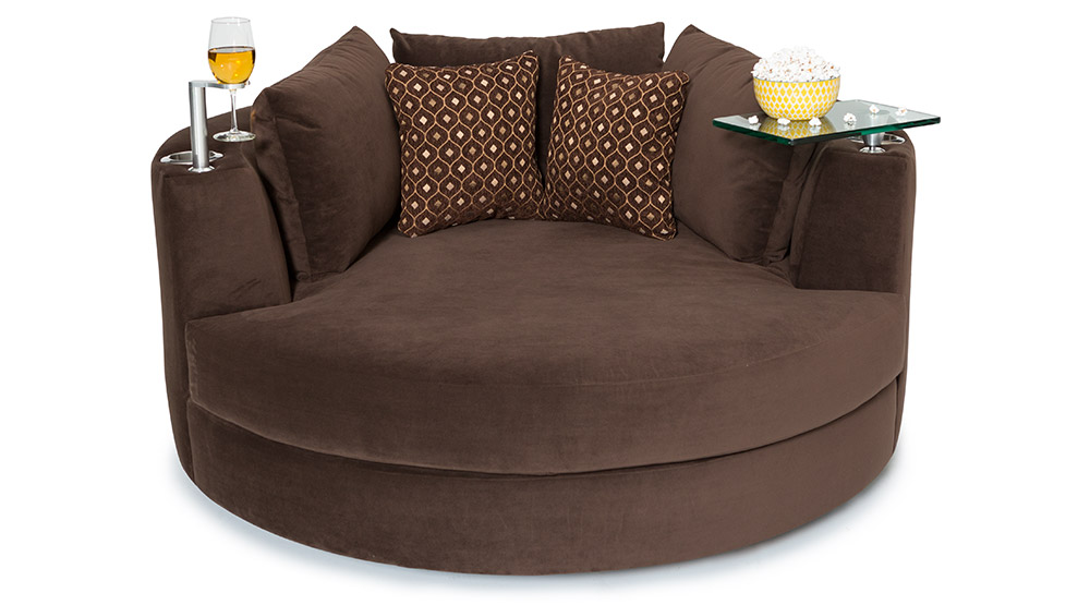 Endearing Round Swivel Sofa Chair Round Sofa Chair Stoney Creek ...