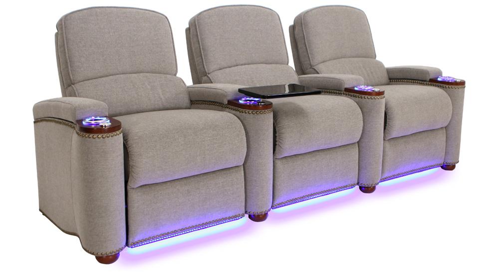 Seatcraft Monroe Home Movie Chairs ...