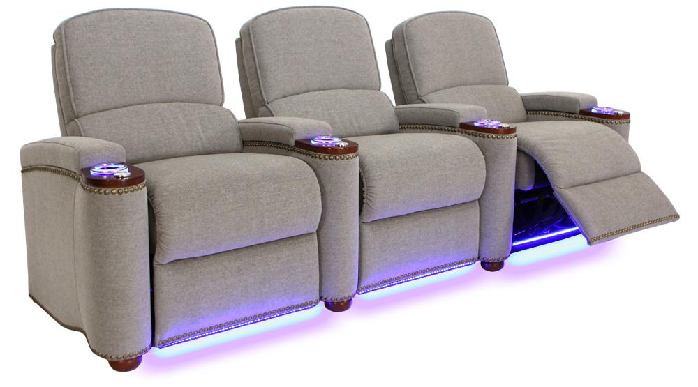 Seatcraft Monroe Home Movie Chairs