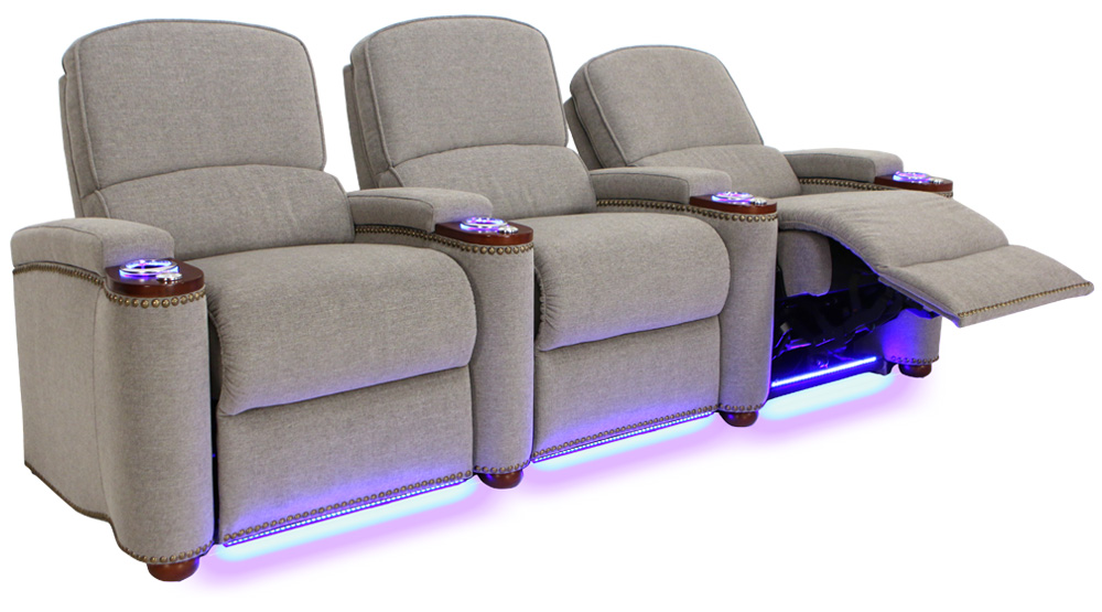 ... Seatcraft Monroe Home Movie Chairs