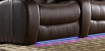 Seatcraft Grenada Theater Seats Ambient Lighting