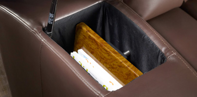 Seatcraft Grenada Theater Seats In-Arm Storage