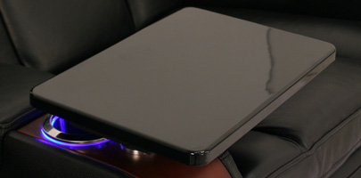 Seatcraft Madera Home Theater Seat Tray Table