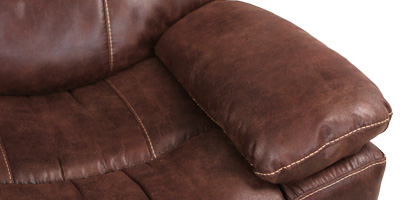 Seatcraft Bismarck Theater Sectional Padded Armrest