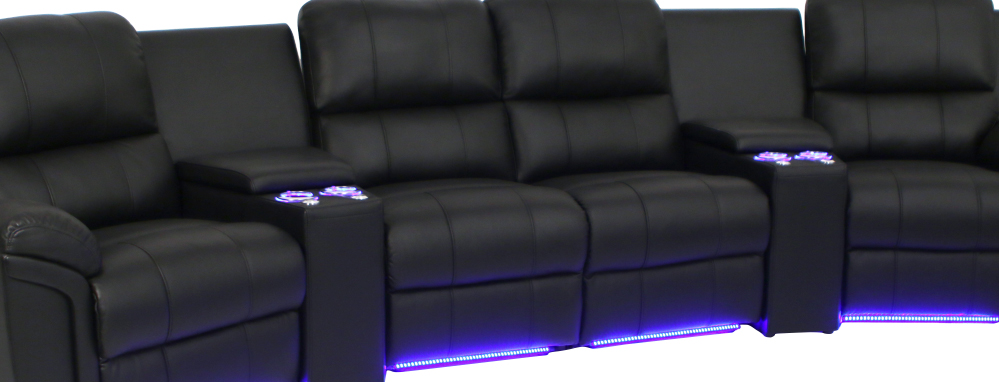 Seatcraft Madison Home Media Sectional : home theatre sectional - Sectionals, Sofas & Couches