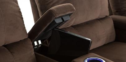 Seatcraft Aspen In-Arm Storage