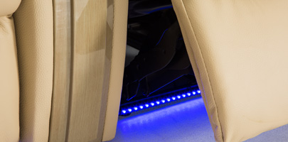 Seatcraft Monaco Home Theater Chairs Base Lighting