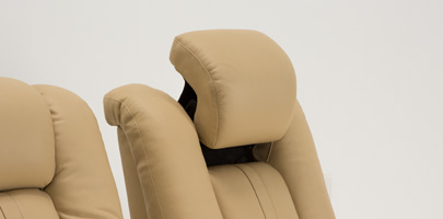 Seatcraft Monaco Home Theater Chairs Powered Headrests