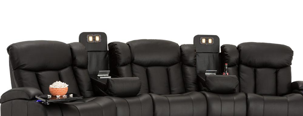 Seatcraft Niagara Home Theater Sofa Seatcraft - Home theater sofa