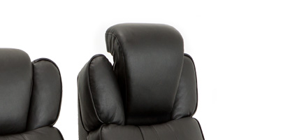 Seatcraft Rockford Home Theater Seating Powered Headrests