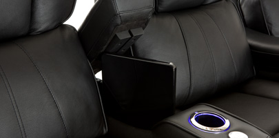 Seatcraft Rockford Home Theater Seating In-Arm Storage