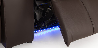 Seatcraft Sonoma Home Theater Seating Ambient Lighting