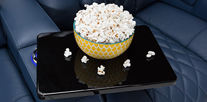 Seatcraft Diamante Home Theater Seats Tray Tables