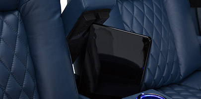 Seatcraft Diamante Home Theater Seats In-Arm Storage