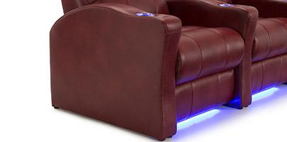 Seatcraft Napa Theater Seat Space Saver Design