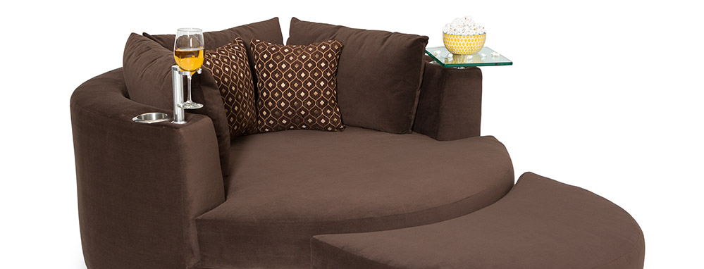 Delicieux Seatcraft Swivel Cuddle Couch