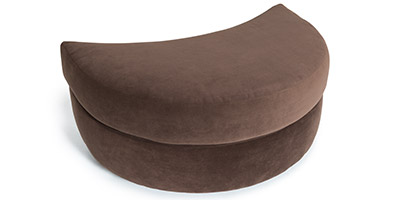 Seatcraft Swivel Cuddle Couch Ottoman