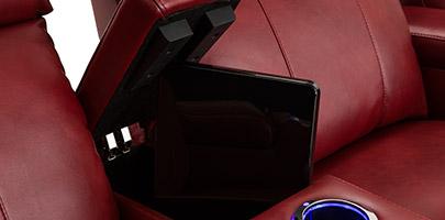 Seatcraft Venetian Love Console Furniture In-Arm Storage