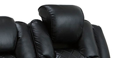 Seatcraft Obsidian Home Theater Sectional Powered Headrest
