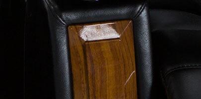 Seatcraft Monte Carlo Media Sofa Inlaid Armrest
