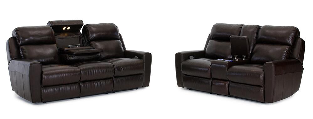 Seatcraft Geneva Sofa and Loveseat