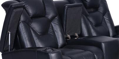 Seatcraft Endeavor Media Sofa Storage