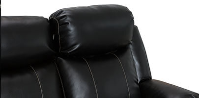 Seatcraft Napoli Home Theater Sofa Powered Headrest