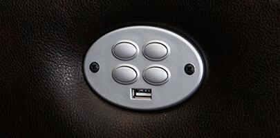 Seatcraft Geneva Sofa and Loveseat USB Charging