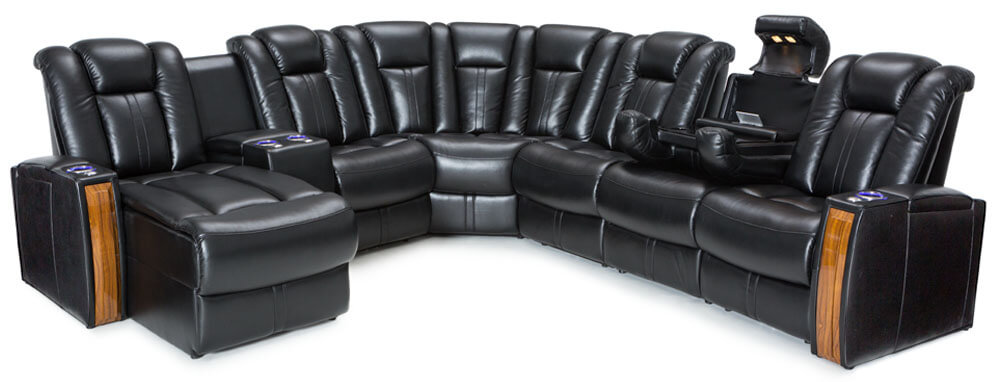 Seatcraft Monte Carlo Media Sofa