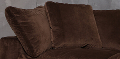 Seatcraft Heavenly Sofa with Matching Pillows