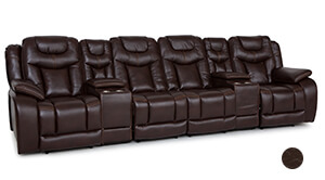Seatcraft Carnegie Media Sofa
