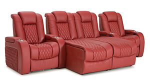 Seatcraft your choice home theater seating seatcraft for Chaise diamante