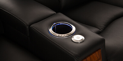 Seatcraft Monaco with Chaise and Lighted Cupholders