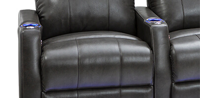 Seatcraft helios home theater seat seatcraft for Space saving seating
