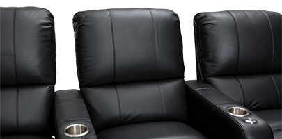 Seatcraft Millenia Home Theater Seating Padded Backrest & Lumbar