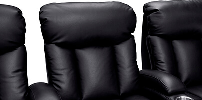 Seatcraft Millenia Home Theater Seating Padded Headrest