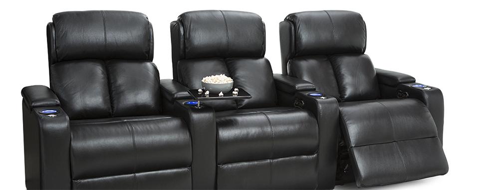 Seatcraft Samson Back Row Theater Seating