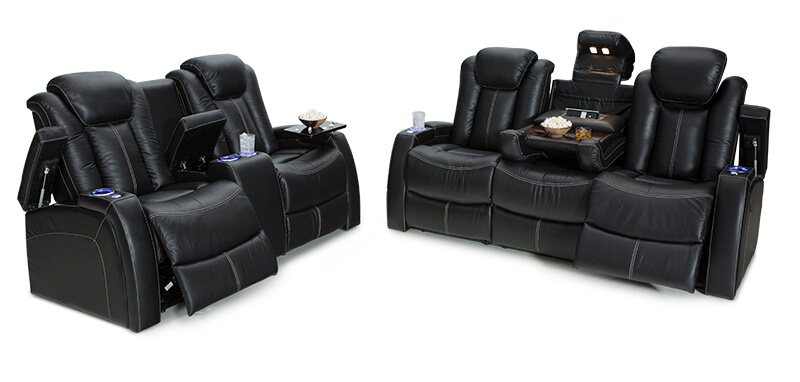 Seatcraft Republic Home Theater Sofa | Seatcraft