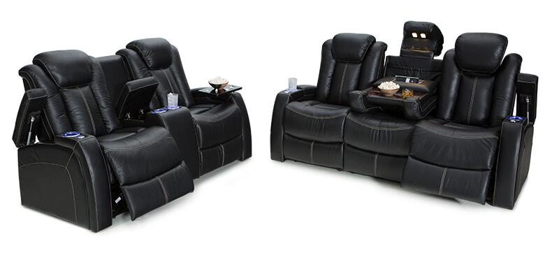 Seatcraft Republic Home Theater Sofa Seatcraft