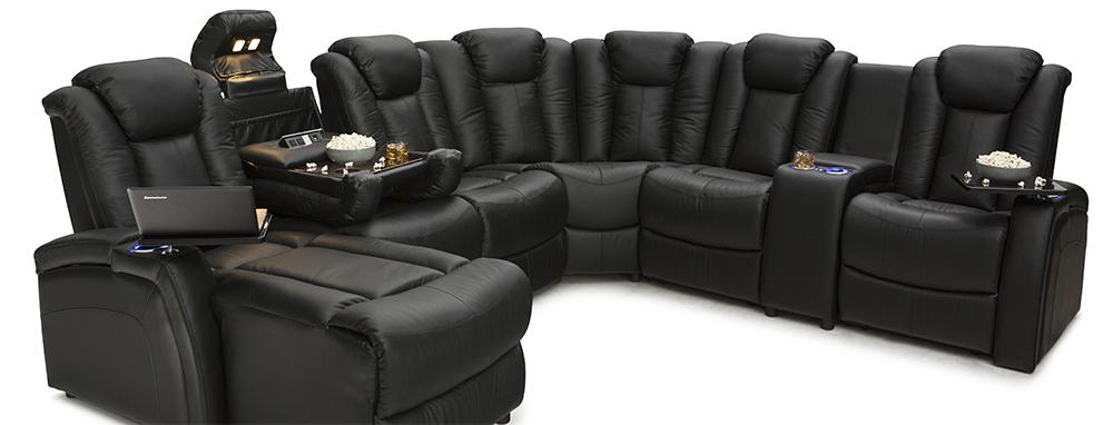 Seatcraft Anthem Home Theater Sofa