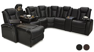 Seatcraft Entrada Home Theater Sectional
