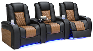 Seatcraft Diamante Two-Tone Custom Theater Seats