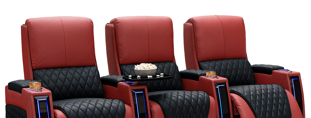 Seatcraft Your Choice Apex Two-Tone Theater Seats
