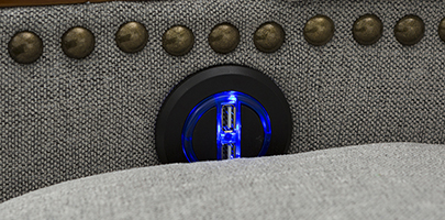 Seatcraft Monroe USB Charging Power Recline Seats