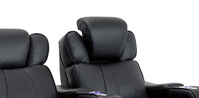 Seatcraft Rockford Home Theater Seating Power Headrests