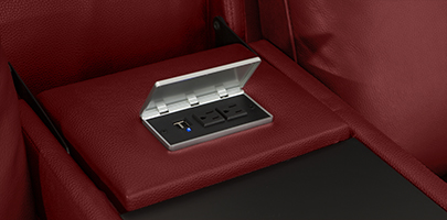 Seatcraft Venetian Love Console Furniture USB Charging