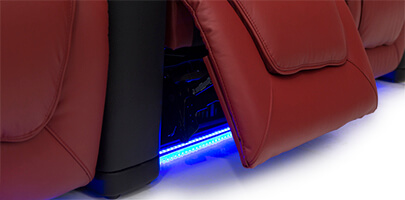Seatcraft Maxim Home Theater Seats Ambient Lighting